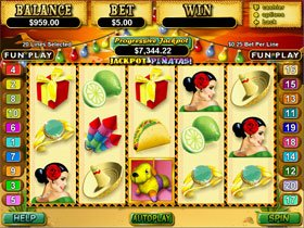 Jackpot Pinatas Slot has now reached $1.1 Million