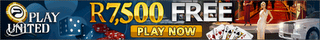 Play United Casino now offering SA Rands