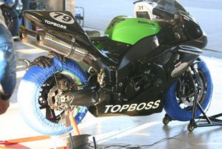 Topboss Super Bike Sponsorship