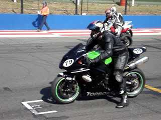 Topboss Bike in action at Kyalami
