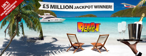£5.1 million winner on the Beach Life Online Slot